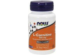 Now L-Carnitine 500 mg, 30Caps