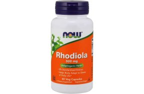 Now Rhodiola 500 mg, 60V.Caps