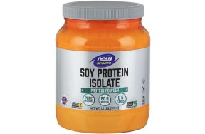 Nowfoods SOY PROTEIN ISOLATE NON -GMO 1,2 LB Πρωτεΐνη Σόγιας