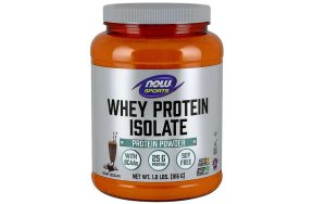 Now Whey Protein Dutch Chocolate Powder, 816g