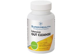 SuperHealth Intensive Gut Cleanse, 60V.Caps