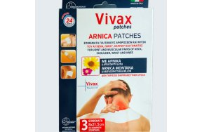 Vivax Arnica Patches, 3Τμχ
