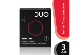 Duo Extra Thin 3τμχ