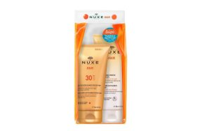 Nuxe Sun Delicious Lotion High Protection Face & Body SPF30 150ml & After Sun Hair & Body Shampoo 200ml