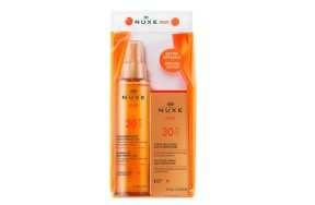 Nuxe Sun Delicious Face Cream SPF30 150ml & Tanning Oil 50ml