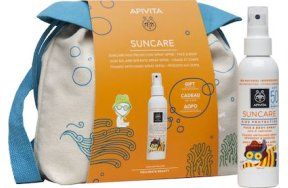 Apivita Suncare Kids Face-body Spray Aloe Calendula SPF50 150ml & Backpack 150ml