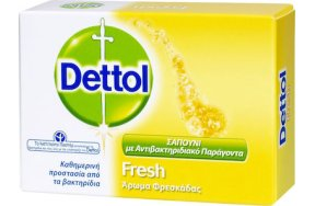 Dettol Fresh Antibacterial Soap 100gr