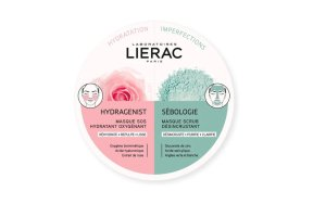 Lierac Hydragenist & Sebologie Mask 2x6ml