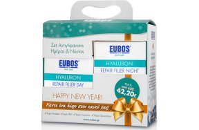 Eubos AntiAgeing PROMO SET with Hyaluron Repair Filler Day Cream, 50ml & Night Cream, 50ml