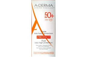 A-Derma Protect Fluid Very High Protection Spf50+, 40ml