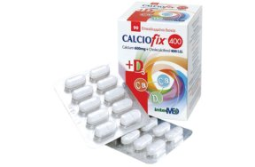 Intermed Calciofix Tablets 90tabs 600+D3 400IU