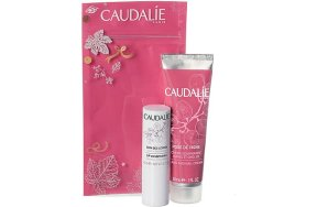 Caudalie Winter Duo Promo: Rose de Vigne Hand and Nail Cream 30ml + Lips Conditioner 4,5g