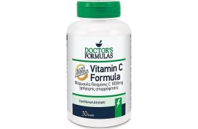 Doctor''s Formulas Vitamin C Fast Action, Φόρμουλα βιταμίνης C, 1000mg 30Tabs