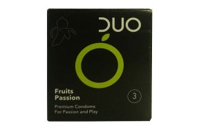 Duo Fruits Passion (Flavoured) 3τμχ