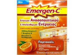Emergen-C Orange 1000mg 10sachets