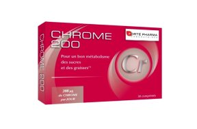 Forte Pharma Chrome 200, 30Tabs