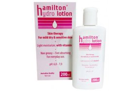 HAMILTON hydro lotion light moisturizer 200ml