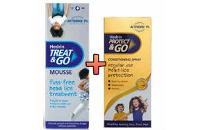 Hedrin Pack (Treat & Go 100ml μαζί με Protect & Go 200ml)