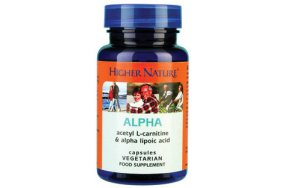 Higher Nature Alpha Lipoic Acid 30Caps