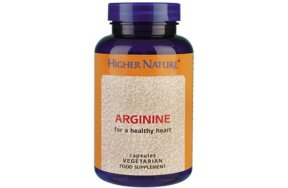 Higher Nature Arginine 120caps