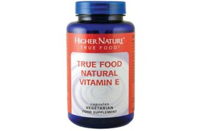 Higher Nature True Food Natural Vitamin E 90V.Tabs