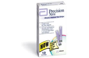 FREESTYLE Precision Xtra Blood Ketone Test Strips 10 STP