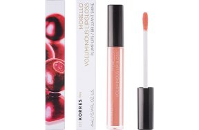 Korres Morello Voluminous Lipgloss 12 Candy Pink, 4ml
