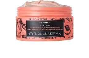 Korres Peach Dual Hualuronic Multi Action Body Souffle 200ml