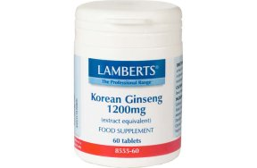 Lamberts Korean Ginseng 1200mg 60tabs