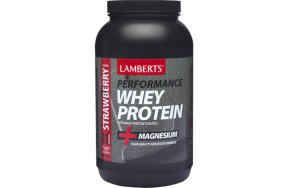 Lamberts Whey Protein Concentrate Strawberry 1000g