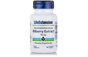 Life Extension Bilberry Extract 90caps