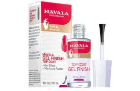 Mavala nail beauty gel finish top coat 10ml