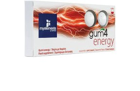 My Elements Gum 4 Energy 10τμχ