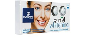 My Elements Gum 4 Whitening 10τμχ