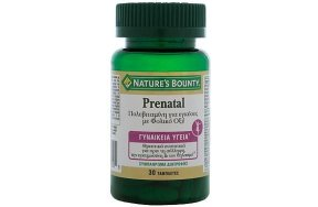 Nature''s Bounty Prenatal, 30Tabs