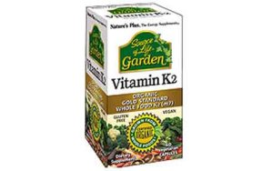 Nature''s Plus Source of Life Garden Vitamin K2 120mcg 60vcaps