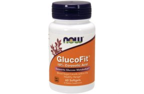 Now Foods GlucoFit, 60Softgels