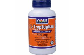 Nowfoods L-Tryptophan 500mg 60v.caps