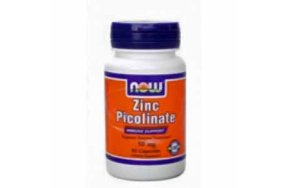 Nowfoods ZINC PICOLINATE 50mg 60 caps Ψευδάργυρος