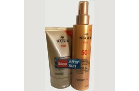 Nuxe Sun Promo: Melting Spray High Protection SPF50 150ml + ΔΩΡΟ Refreshing After-Sun Lotion for Face and Body 100ml