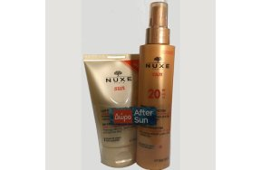 Nuxe Sun Promo:Milky Spray for Face and Body Medium Protection SPF20 150ml + ΔΩΡΟ Refreshing After-Sun Lotion for Face and Body 100ml