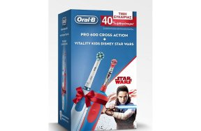 Oral-B Pro 600 Cross Action + Vitality Kids Disney Star Wars