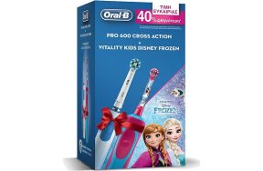 Oral-B Pro 600 Cross Action + Oral-B Vitality Kids Disney Frozen