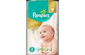 Pampers Premium Care Πάνες No 3 (Midi:5-9Kg) 60τμχ
