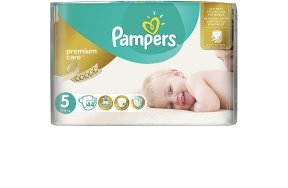 Pampers Premium Care Πάνες No 5 (Junior:11-18Kg) 44τμχ