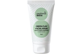 Panthenol Extra Green Clay Facial Mask, 75ml