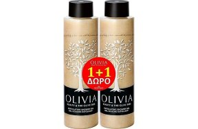 Papoutsanis Promo Olivia Exfoliating Shower Gel Αφρόλουτρο Απολέπισης 300ml 1+1