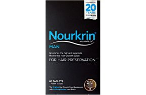 Pharma-Medico Nourkrin Man For Hair Preservation 60tabs