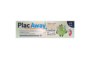 Plac Away Junior Teeth Οδοντόκρεμα Orange 50ml