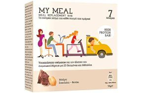 Power Health My Meal Μπάρα Σοκολάτα Φιστίκι, 7 μπάρες x 56g